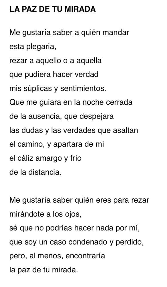 PAZ DE TU MIRADA-P
