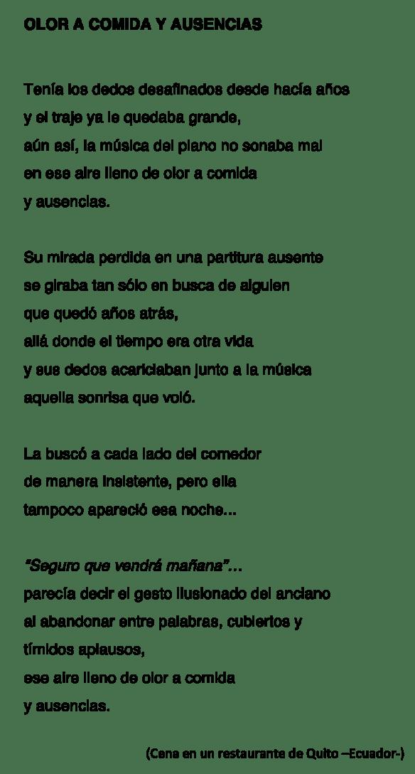 OLOR A COMIDA Y AUSENCIAS-MLA-P