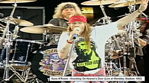 GUNS AND ROSES-Wembley-92