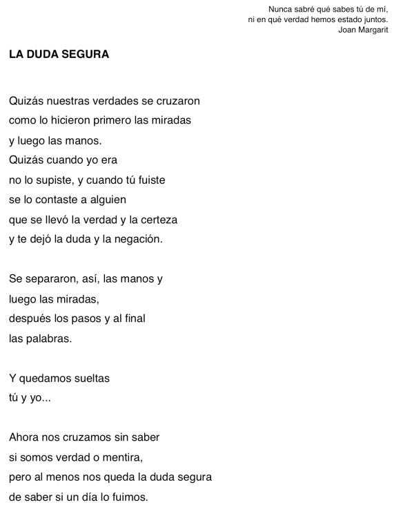 LA DUDA SEGURA-MLA 6-6-16