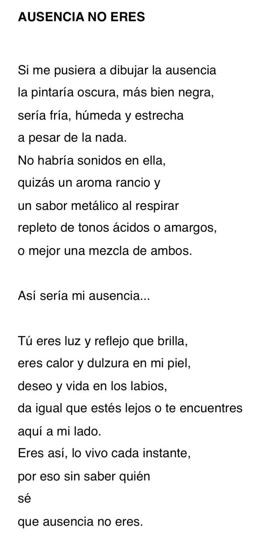 AUSENCIA NO ERES-MLA 6-6-16